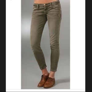 "Current/Elliott ""The Crop Skinny"" Jeans"